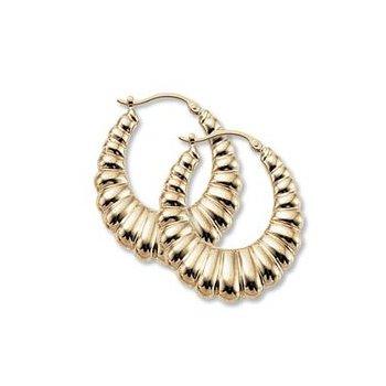 14k y Shrimp Earrings