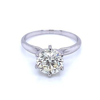 2 Carat Solitaire-Sophisticated Solitaire