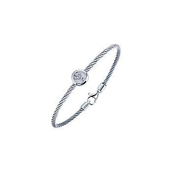 Peace Cable Bracelet