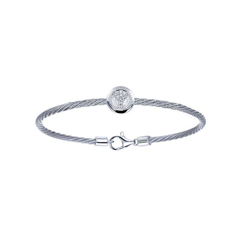 Bryan Beauties Peace Cable Bracelet