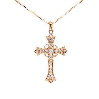 Shinning Within Diamond Cross