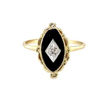 Classic Onyx Ring