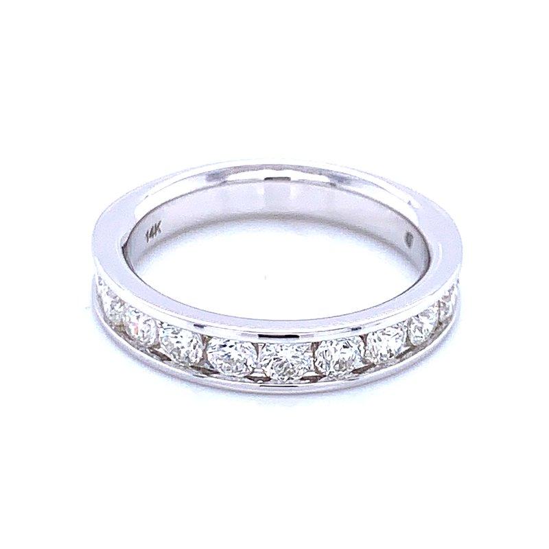 Bryan Beauties Channel Set Diamond Wedding Band 14kw-1ctw