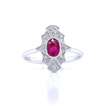 Sure to Treasure Ruby Ring