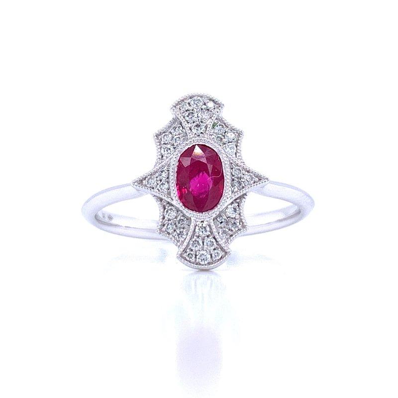 Bryan Beauties Sure to Treasure Ruby Ring