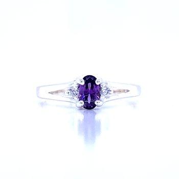 Children's February Birthstone Ring