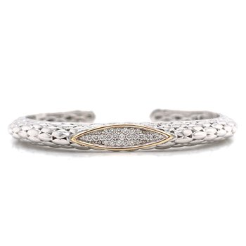 Piyaro Diamond Cuff Bracelet