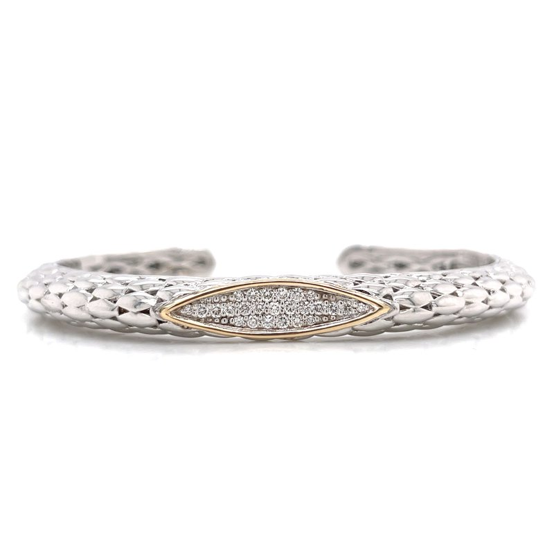 Piyaro Piyaro Diamond Cuff Bracelet