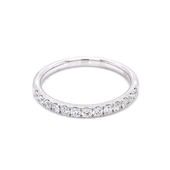 Prestigious Diamond Band-14kw-1/3ctw