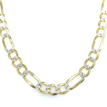 Figaro Chain - Yellow Vermeil - 22 inches