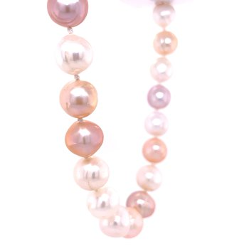 Multi Colored Pink Toned Pearls