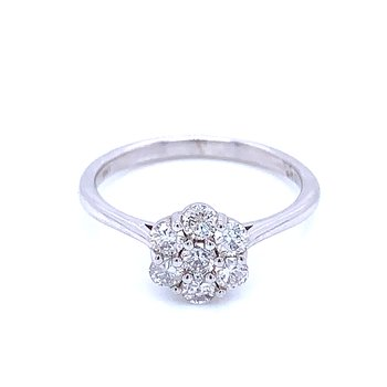 Diamond Cluster 1/2ctw