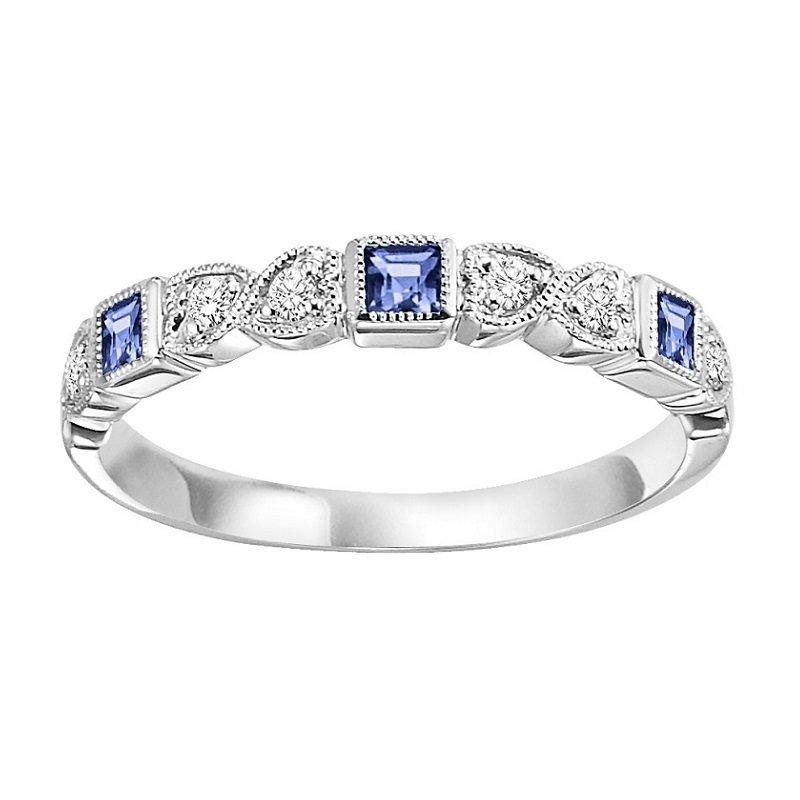 Bryan Beauties Sapphire & Diamond Stackable