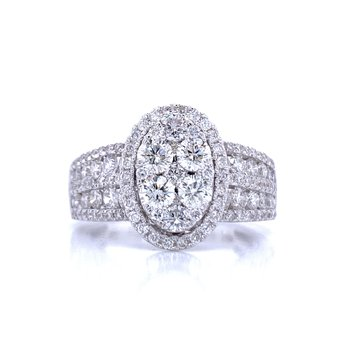 Majestic Oval Ring