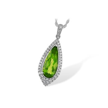 What a Standout Gemstone Pendant in Peridot