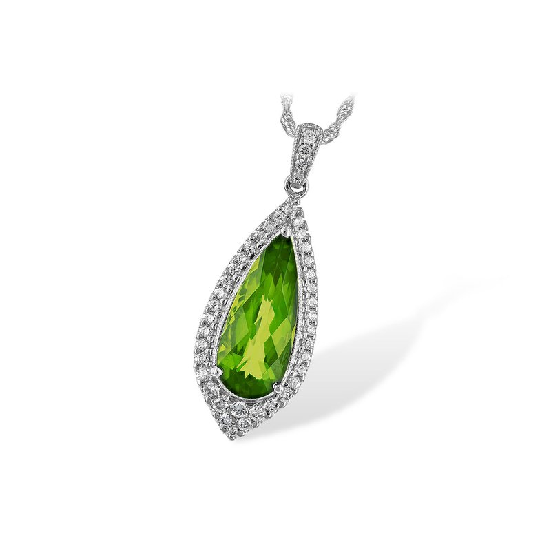 Allison-Kaufman What a Standout Gemstone Pendant in Peridot