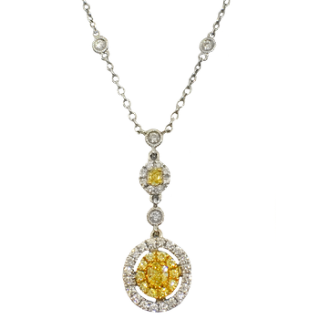 Diamonds by the Yard Yellow Diamond Necklace