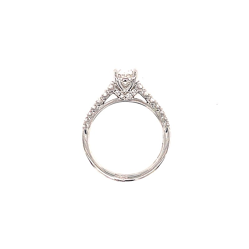 Bryan Beauties Oval Diamond Engagement with Pave' Shank