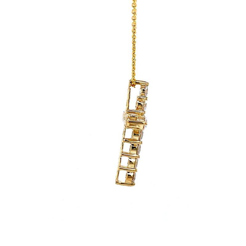Bryan Beauties Diamond Cross Pendant