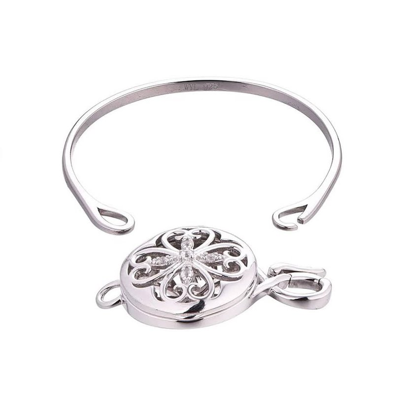 With You Rosa Bangle Locket