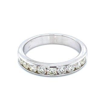 3/4ctw Channel Set Diamond Wedding Band