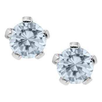 April Birthstone Earrings- Infants