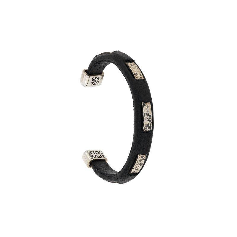 King Baby Hammered Cuff Bracelet
