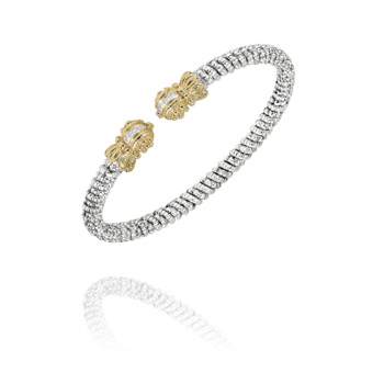 4mm Vahan Cuff with 0.018ctw of Diamonds