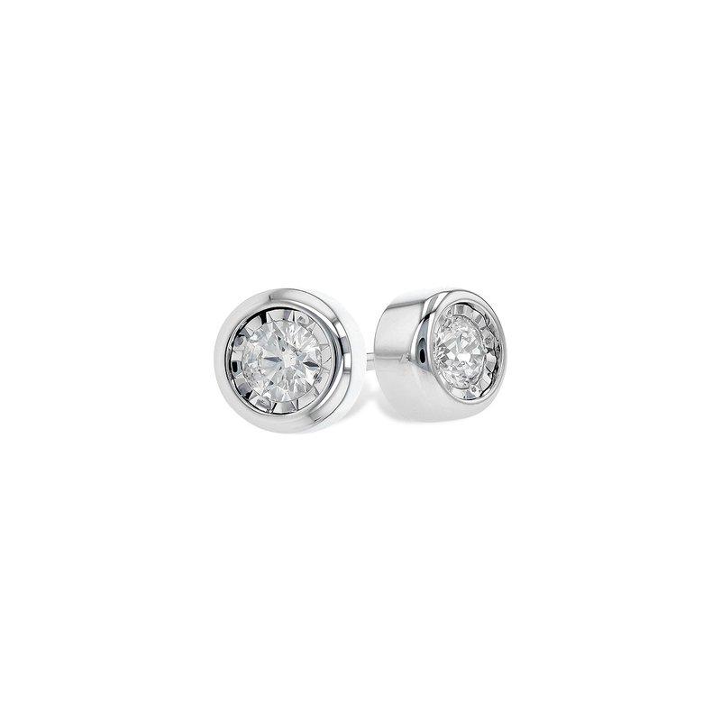 Allison-Kaufman Go with Me Diamond Earrings .25ctw