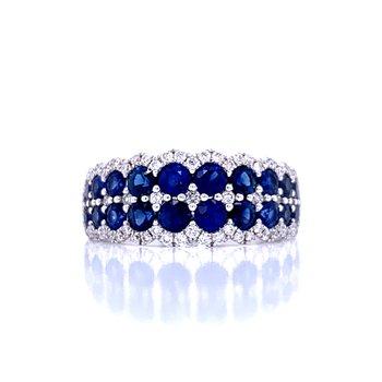 Sapphire & Diamond Duet Band