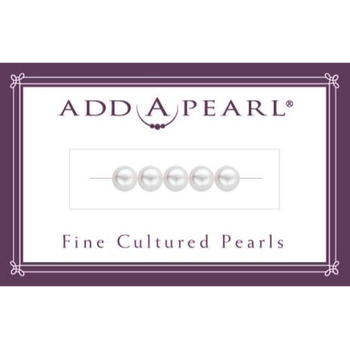Card of 5 5mm Cultured Pearls