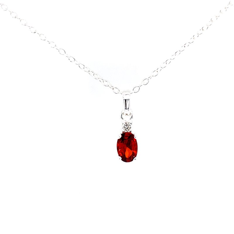 Bryan Beauties Skosh Kids January Birthstone Pendant