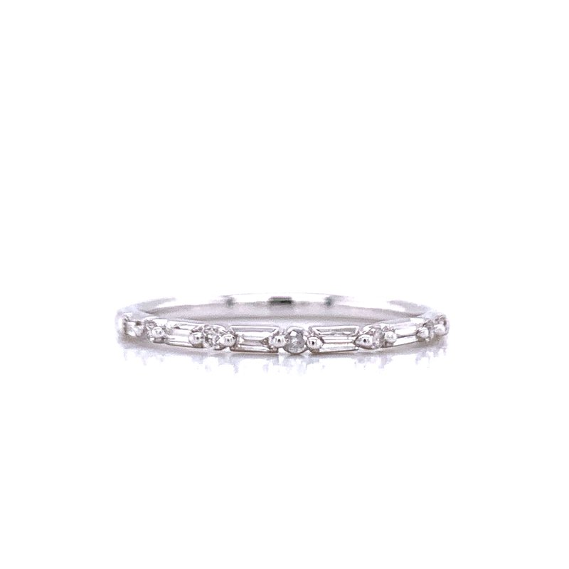 Bryan Beauties Baguette and Round Band