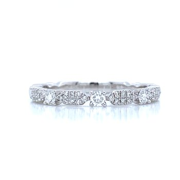 Shaping the Stack, Stackable Diamond Band