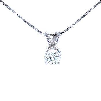 Lab Grown Diamond Pendant 1/2ct