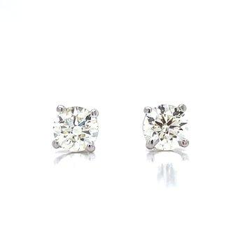 5/8ctw Diamond Studs-14kw