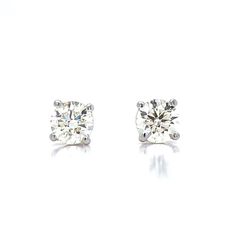 Bryan Beauties 5/8ctw Diamond Studs-14kw