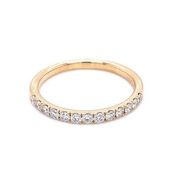 Prestigious Diamond Band-14ky-1/3ctw