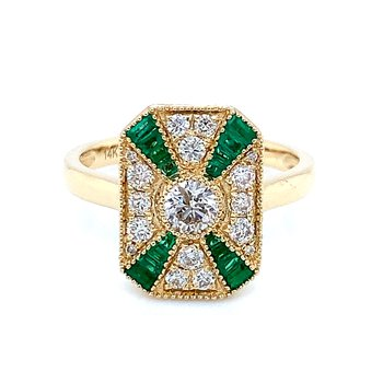 Heirloom Love in Emeralds