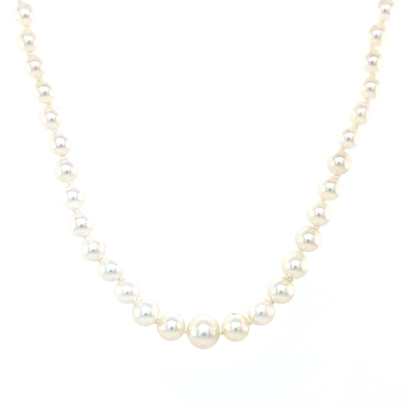 Bryan Beauties Graduated Cultured Pearl Necklace