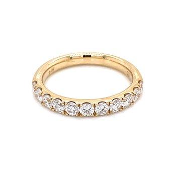 Prestigious Diamond Band-14ky-3/4ctw