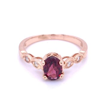 Rhodolite is for You Ring!