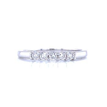 5 Stone Diamond-1/4ctw