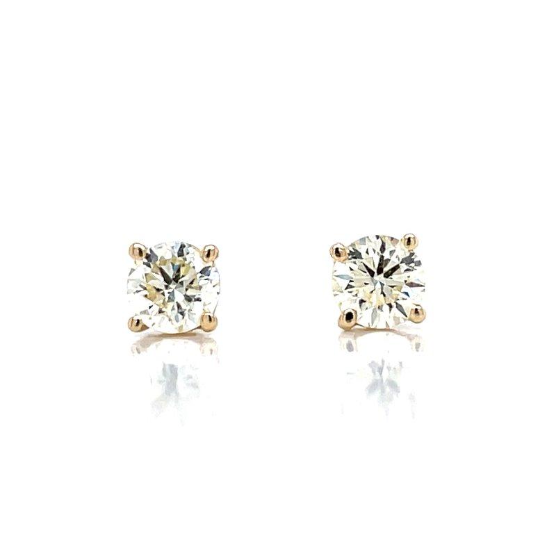 Bryan Beauties 5/8ctw Diamond Studs-14ky