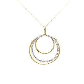 Circle Shimmer Pendant