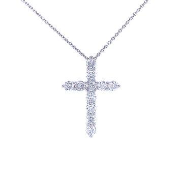 Diamond Cross 1/2ctw