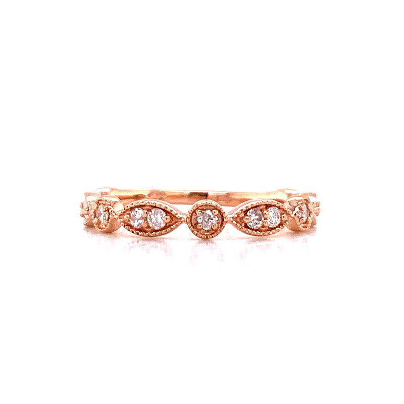 Bryan Beauties Rose Sculpted Stackable Band