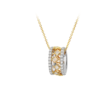 Carousel of Diamonds - Pendant