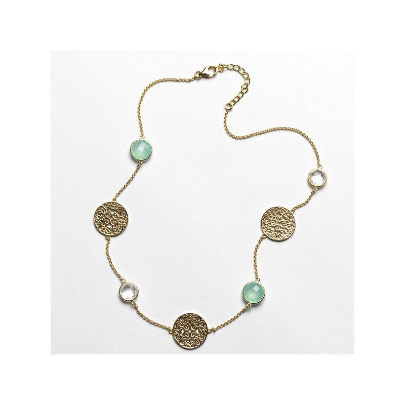 Bryan Beauties Charleston Series Chalcedony Necklace