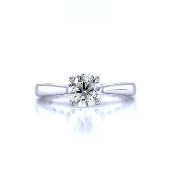 The Happy Diamond Ring in White Gold